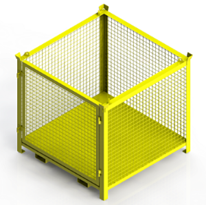 1T Stackable Pallet Cage