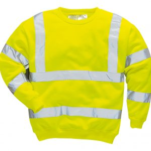 Brush Fleece Jumper with Tape – B303