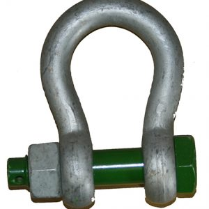 Bow Shackle Safety Type – Green Pin
