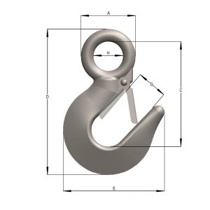 International Alloy Eye Hook