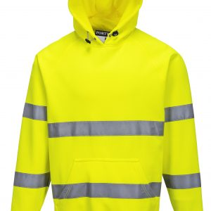 Brush Fleece Hoodie w/Tape-B304