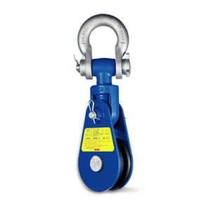 Snatch Block with Shackle