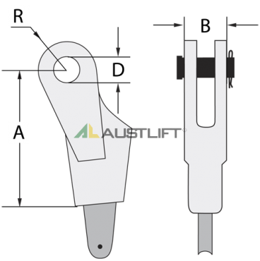 Wedged-Socket-Open-Type-Clevis-1