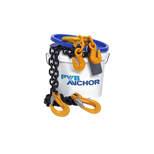 two leg adjustable chain sling